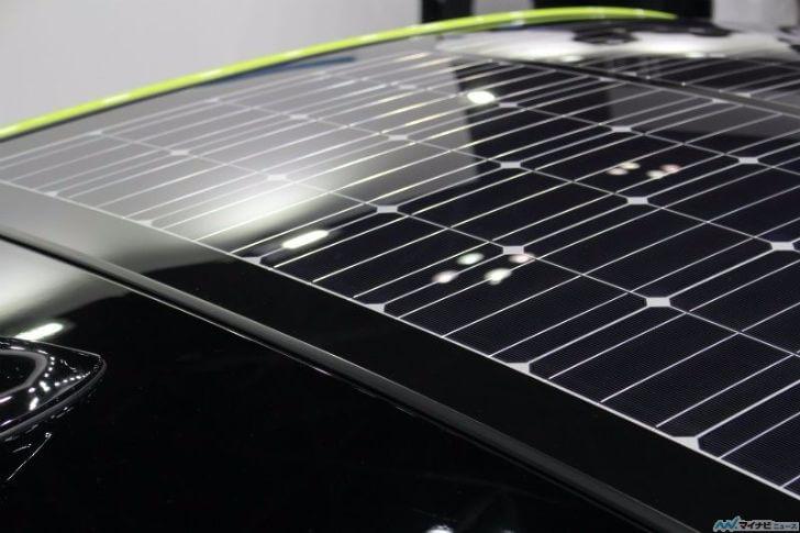 新型プリウスPHV太陽光発電システム