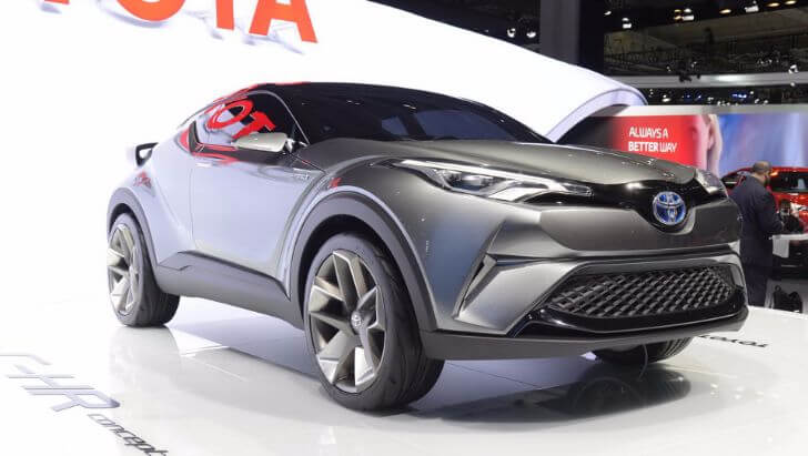 C-HRコンセプトカー画像1