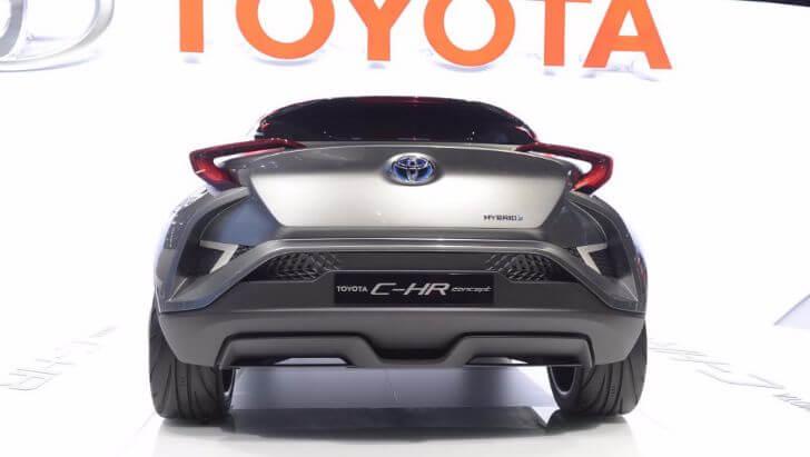 C-HRコンセプトカー画像5