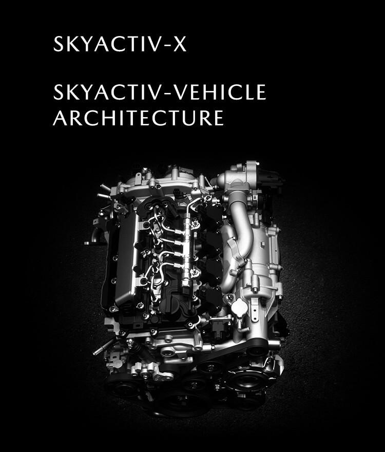マツダ新型アクセラに搭載予定のSKYACTIV-Xエンジン
