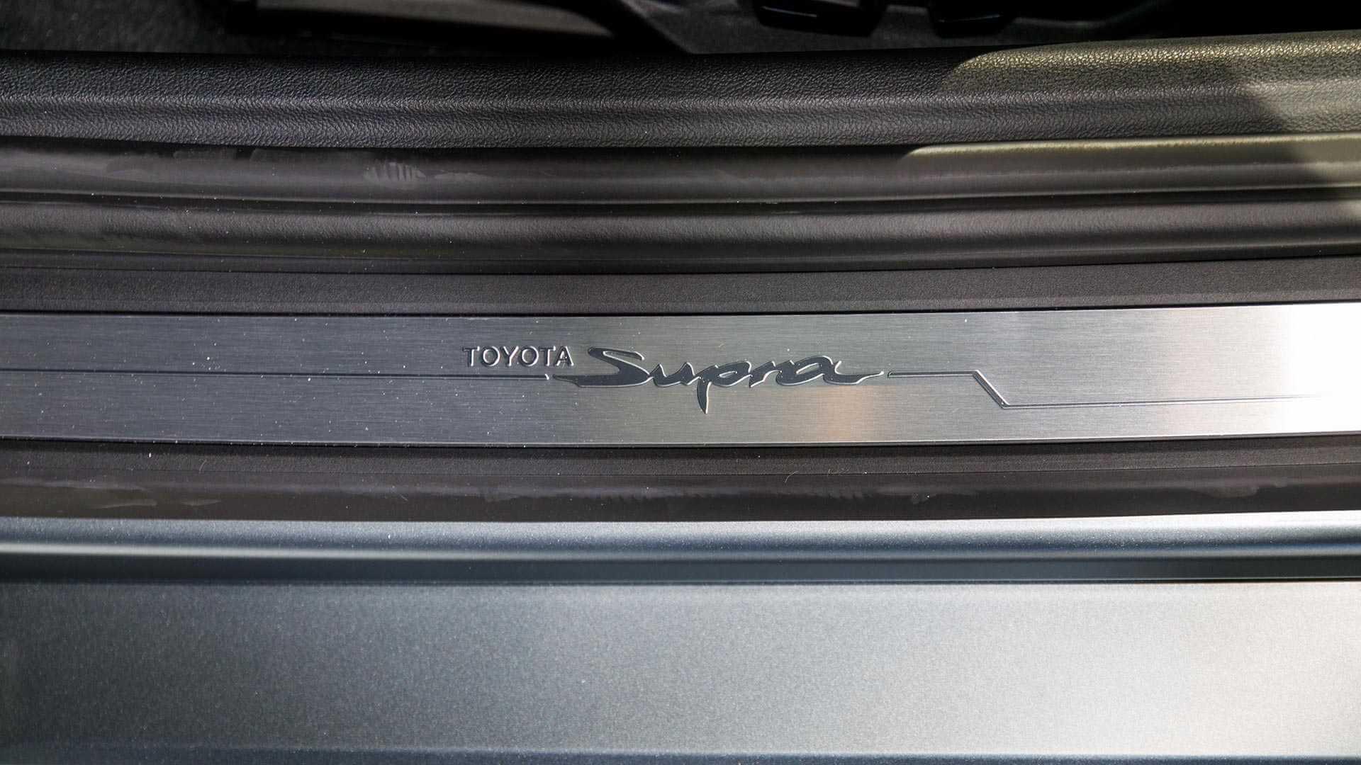 新型スープラA90のインテリア(内装)デザイン画像