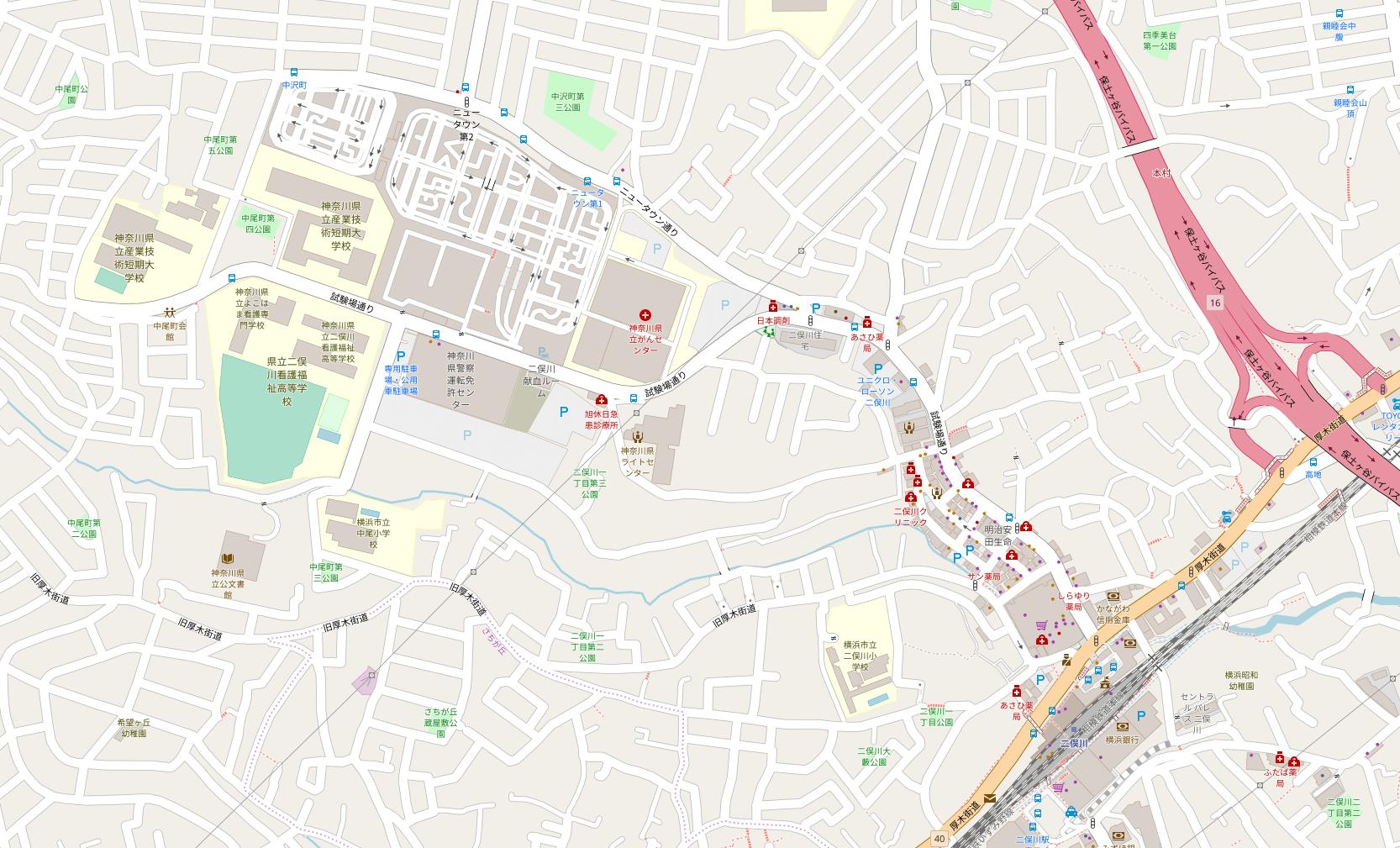 神奈川県警察運転免許センター(二俣川免許センター)とは