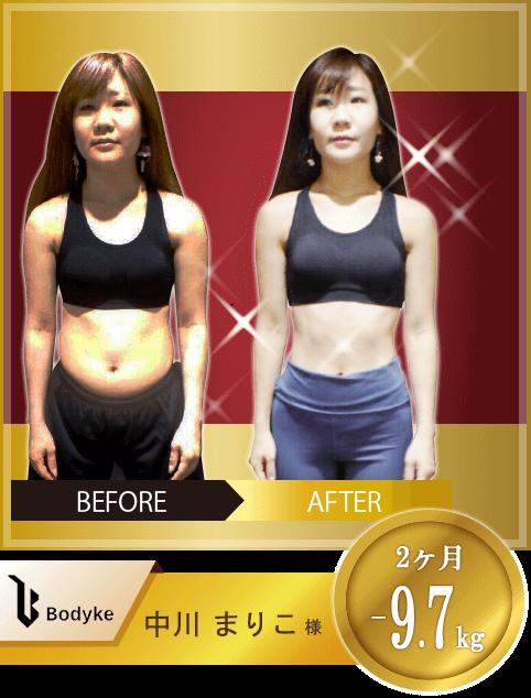 Bodyke(ボディーク)のトレーニング成果事例③